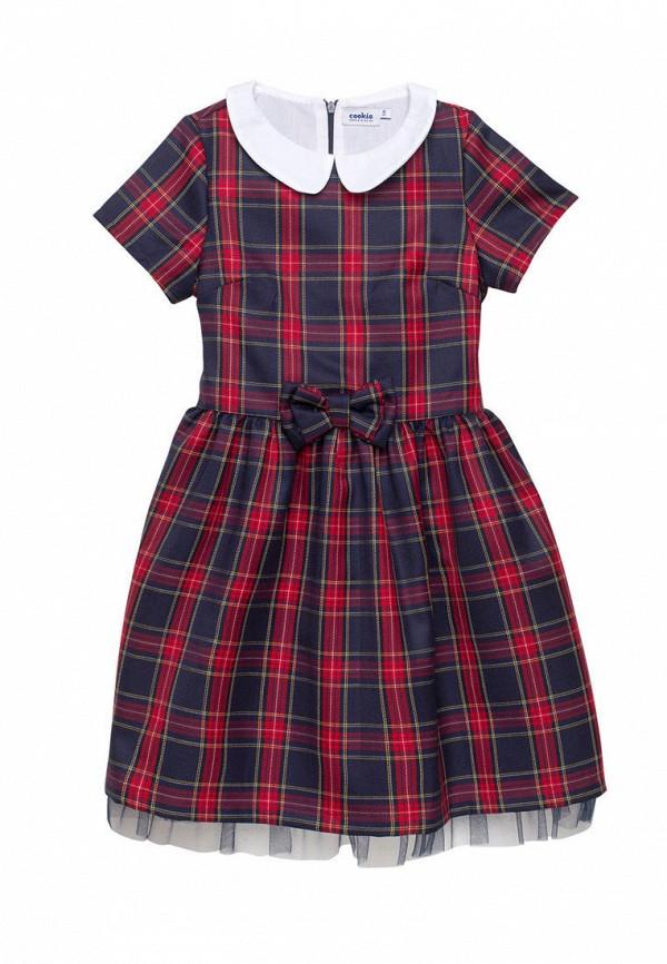 повседневные платье cookie для девочки, разноцветное