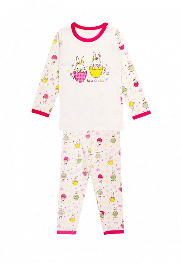 пижама tokki для девочки, белая