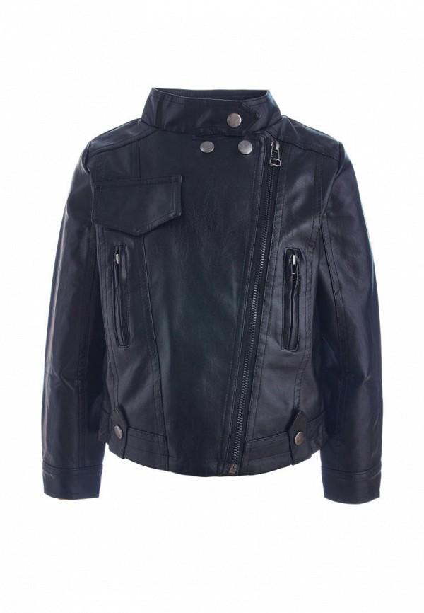 куртка moon river для девочки, черная