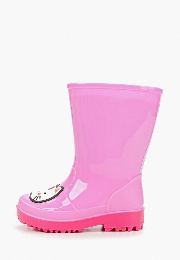 резиновые сапоги honey girl для девочки, розовые