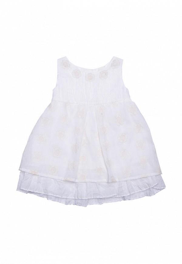 повседневные платье incomer для девочки, белое