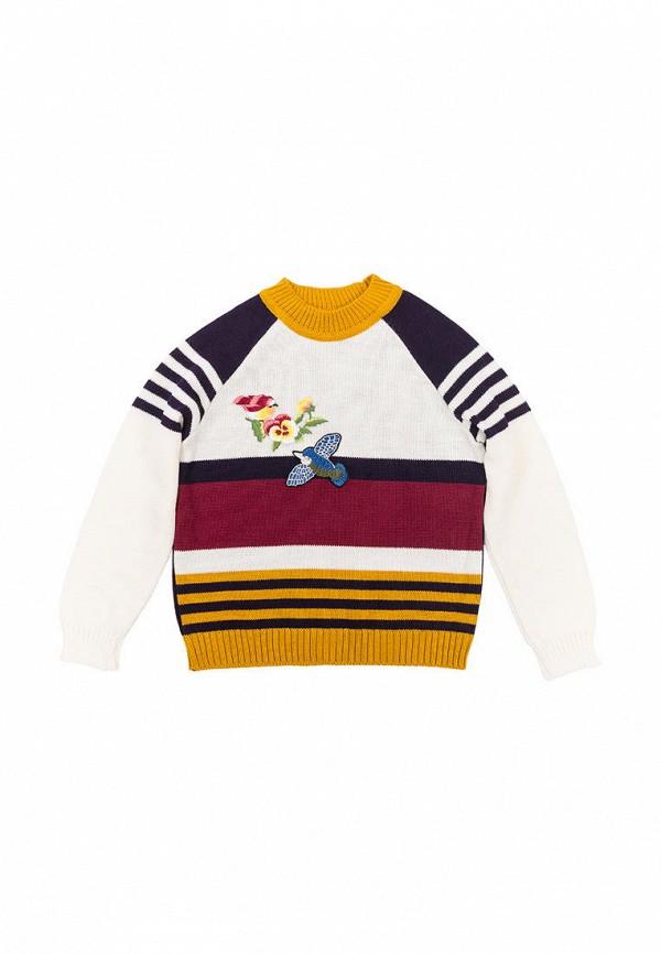 свитер incomer для девочки, разноцветный