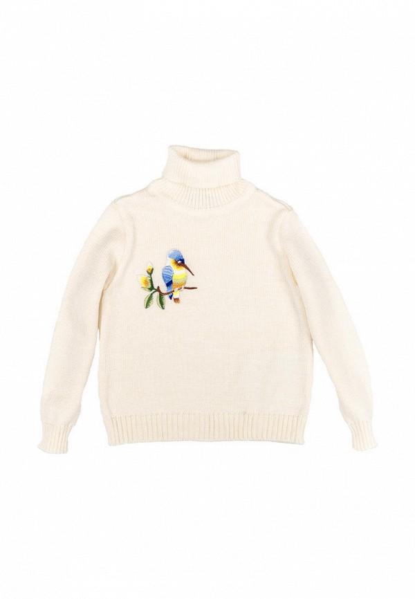 свитер incomer для девочки, бежевый