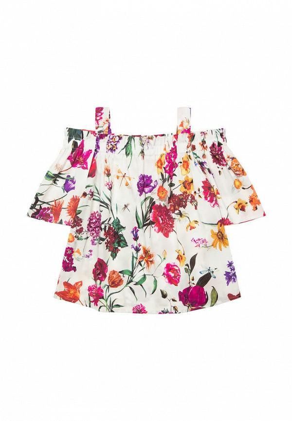 блузка bell bimbo для девочки, разноцветная