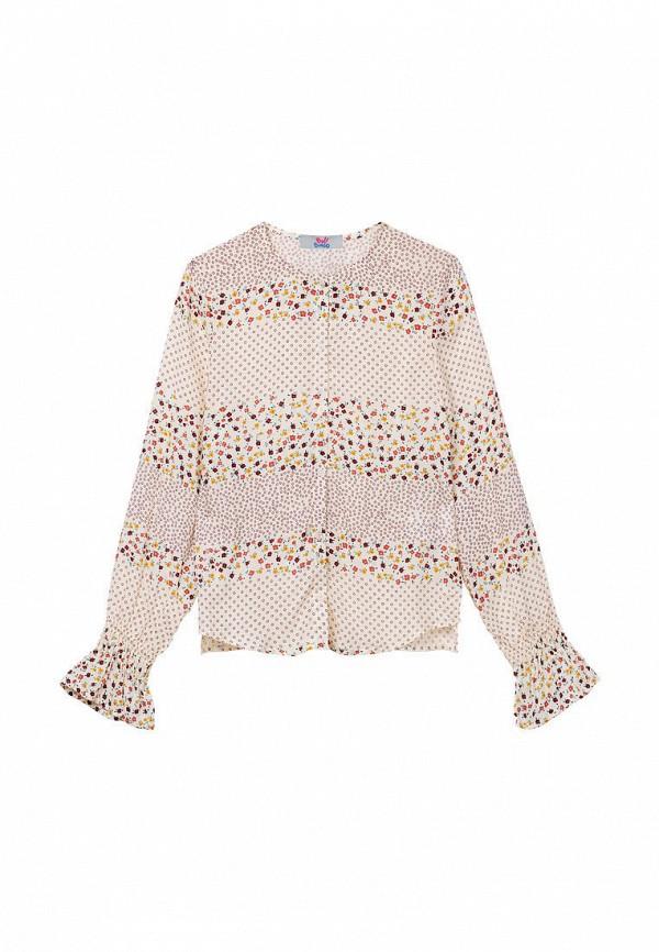 блузка bell bimbo для девочки, бежевая