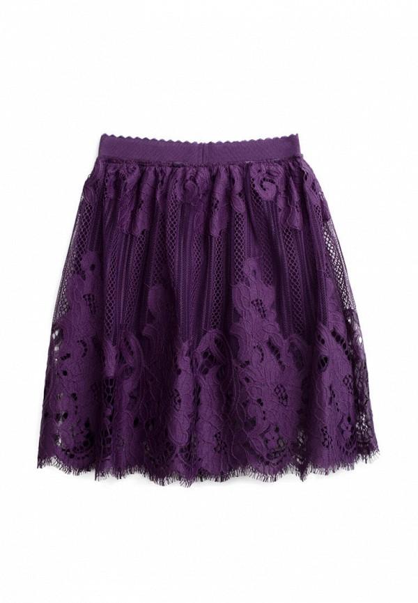 юбка playtoday для девочки, фиолетовая