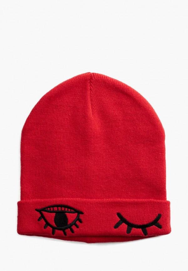 шапка playtoday для девочки, красная