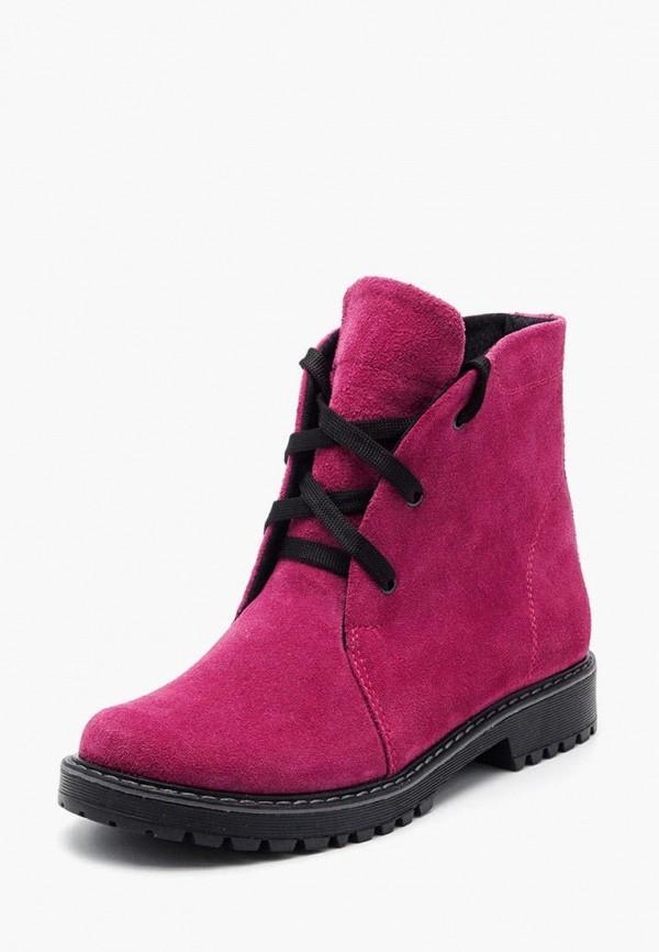 ботинки tops для девочки, розовые