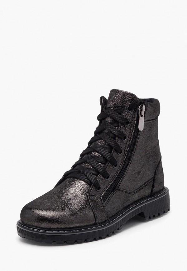 ботинки tops для девочки, серые