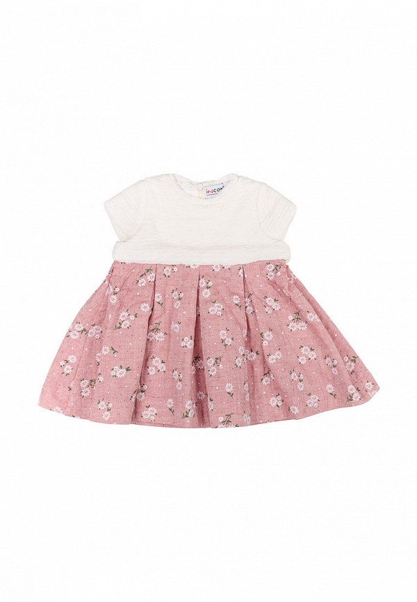 повседневные платье incomer для девочки, розовое