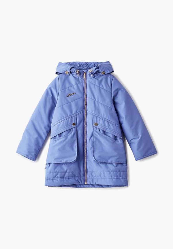 куртка аврора для девочки, розовая