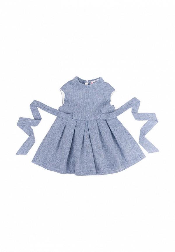 повседневные платье incomer для девочки, синее