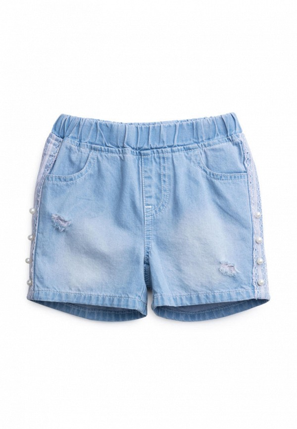 джинсовые шорты playtoday для девочки, голубые