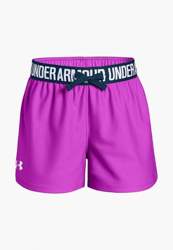 спортивные шорты under armour для девочки, розовые