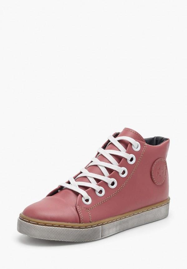 ботинки broni для девочки, розовые