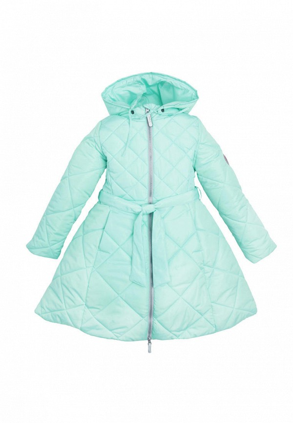 куртка zukka для девочки, бирюзовая