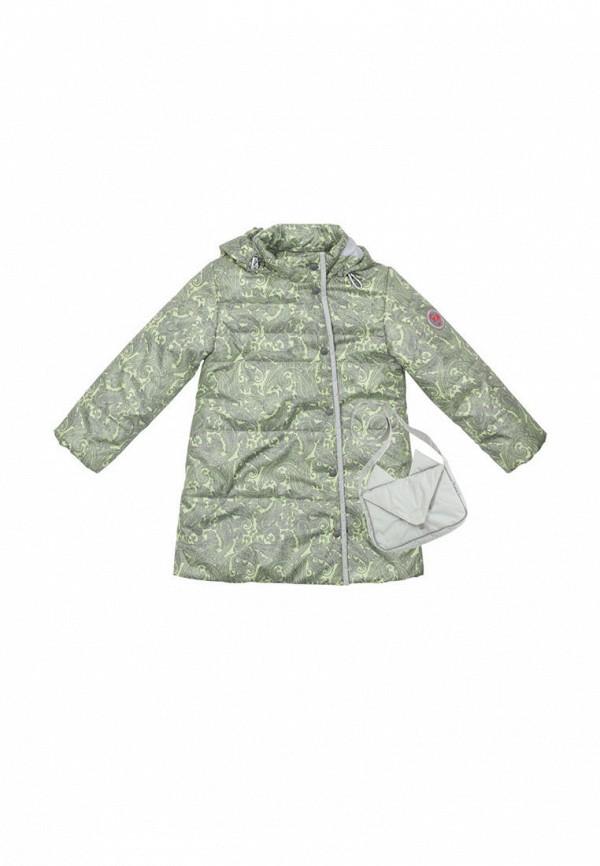 куртка zukka для девочки, зеленая