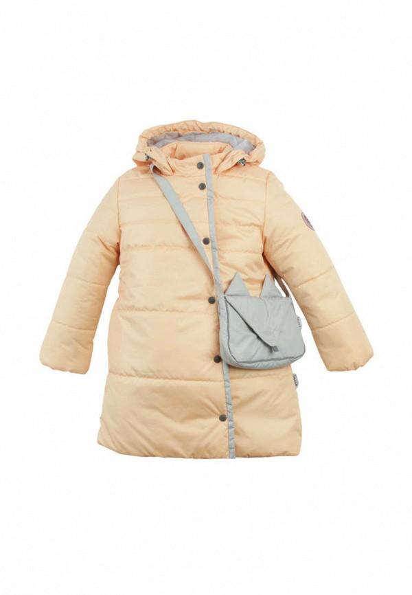 куртка zukka для девочки, бежевая