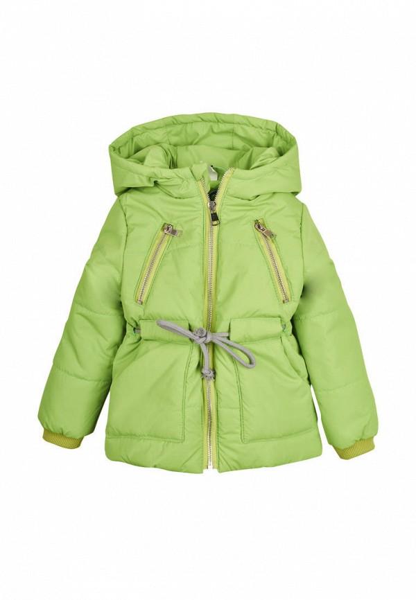 куртка одягайко для девочки, зеленая