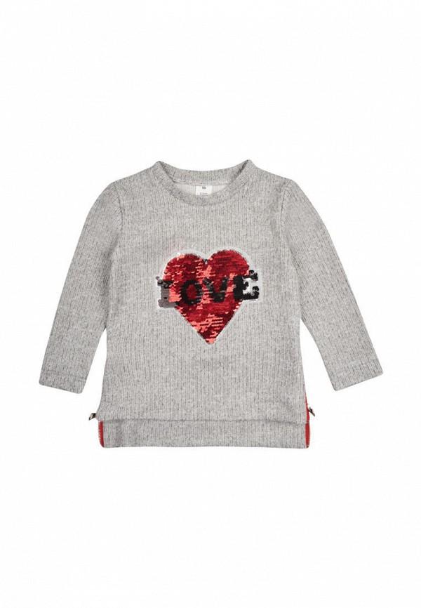 джемпер одягайко для девочки, серый