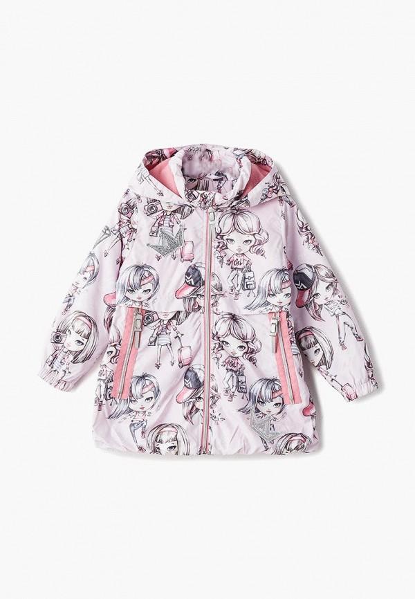куртка alpex для девочки, розовая