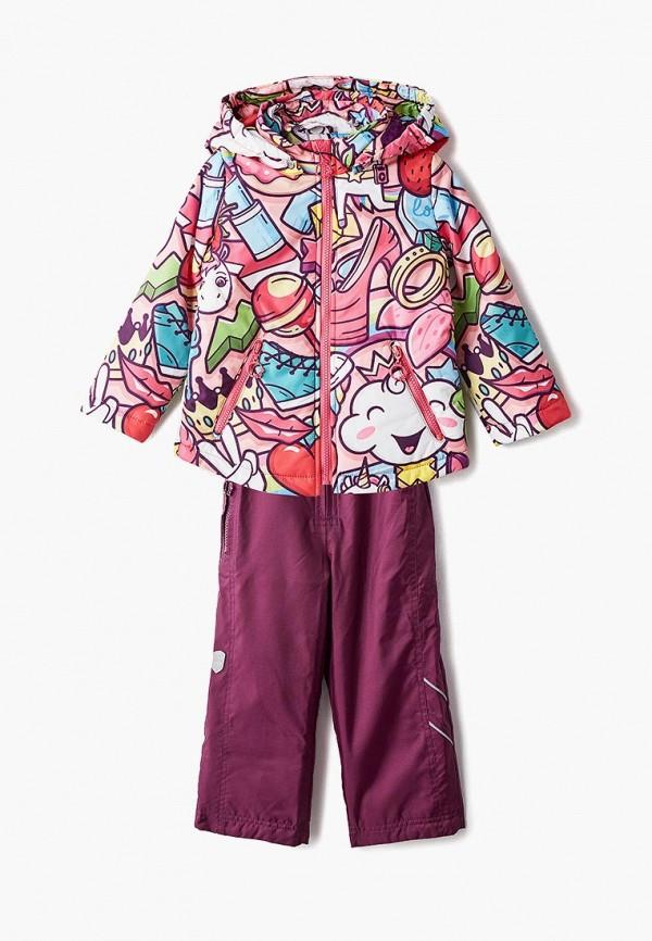 костюм alpex для девочки, разноцветный