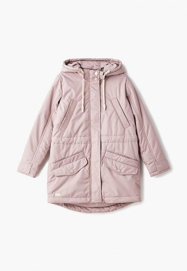 куртка alpex для девочки, бежевая