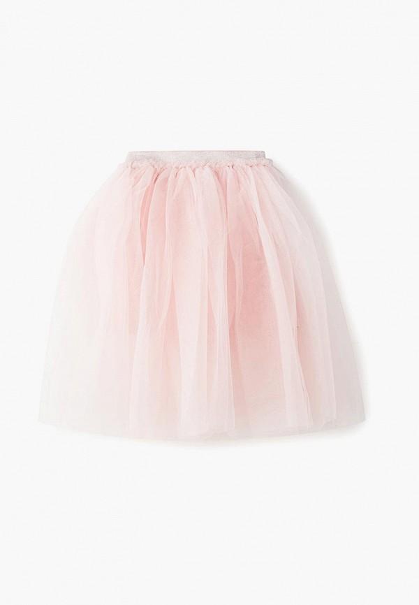 юбка zarina для девочки, розовая