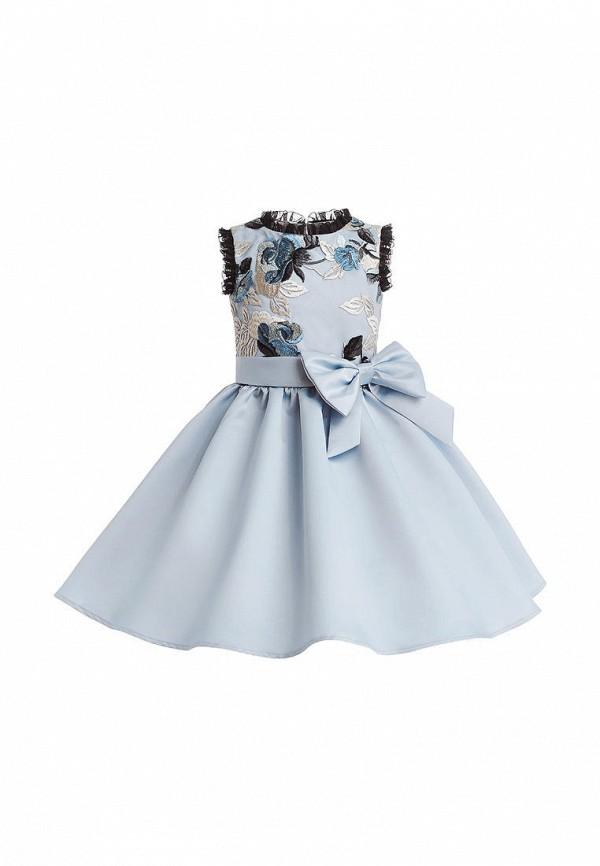 платье stefany для девочки, голубое