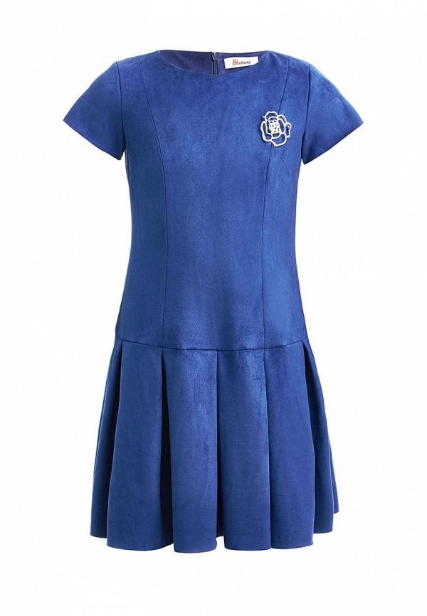 повседневные платье stefany для девочки, синее