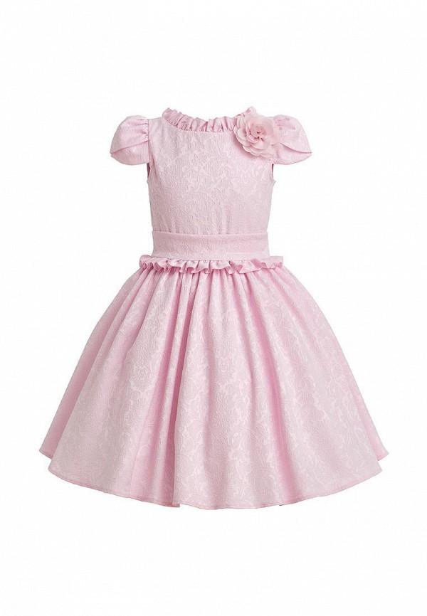платье stefany для девочки, розовое