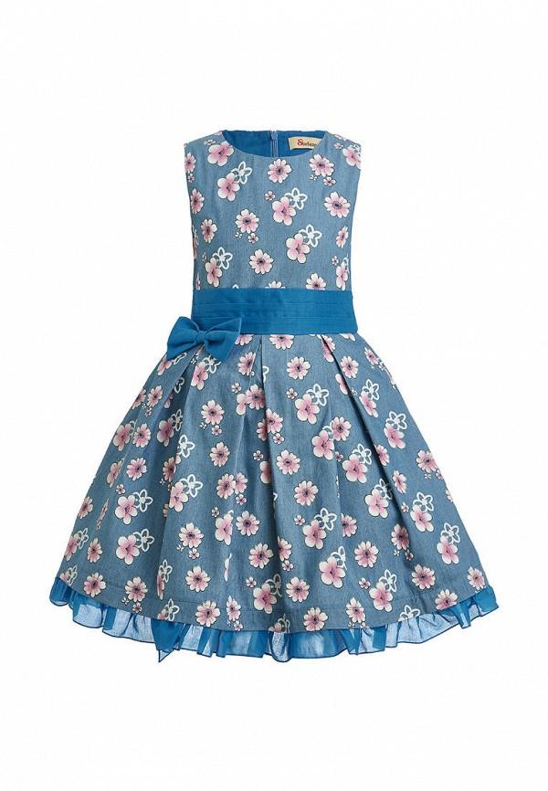 джинсовые платье stefany для девочки, голубое