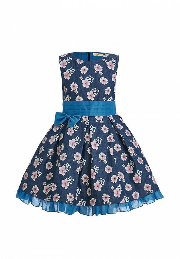джинсовые платье stefany для девочки, синее