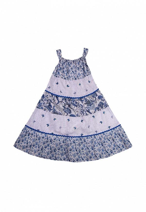 сарафан bigu для девочки, синий