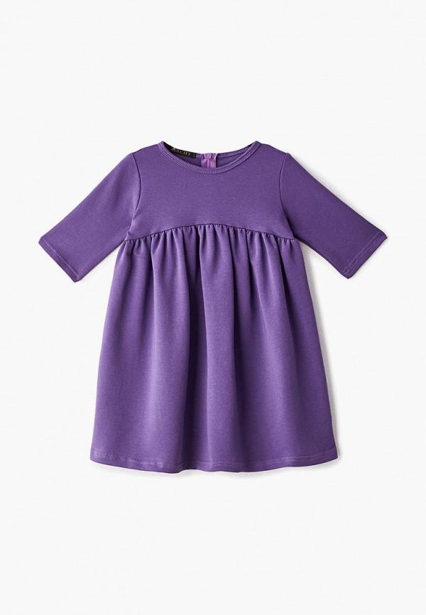 повседневные платье archyland для девочки, фиолетовое