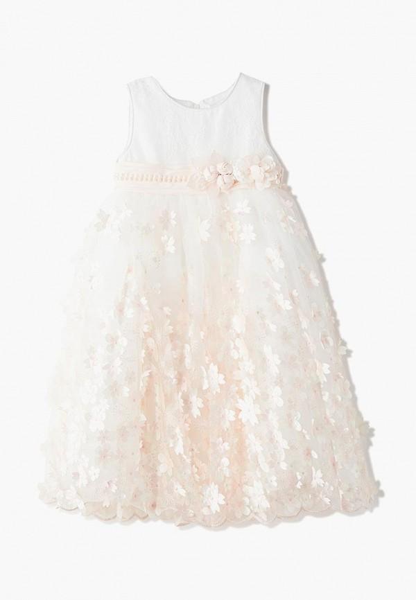 платье mili для девочки, белое