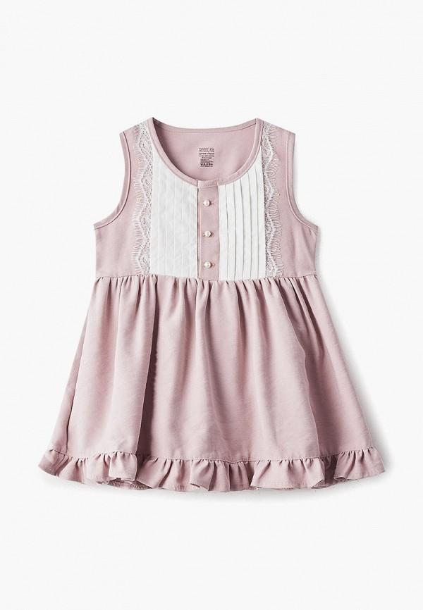 повседневные платье trendycokids для девочки, розовое