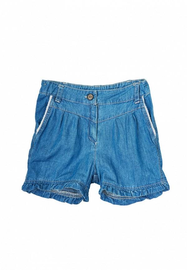 шорты бемби для девочки, синие