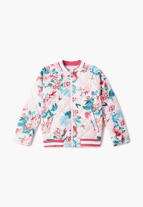 куртка infunt для девочки, розовая