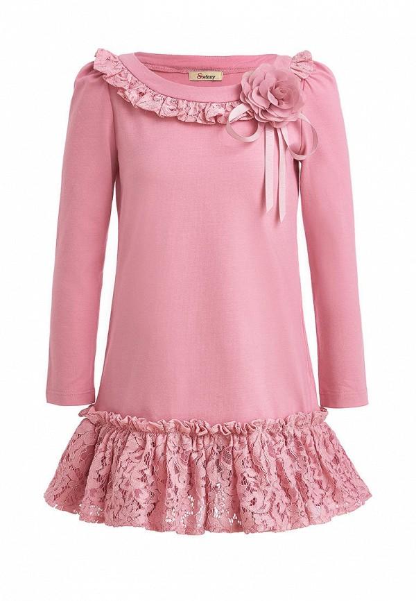 повседневные платье stefany для девочки, розовое