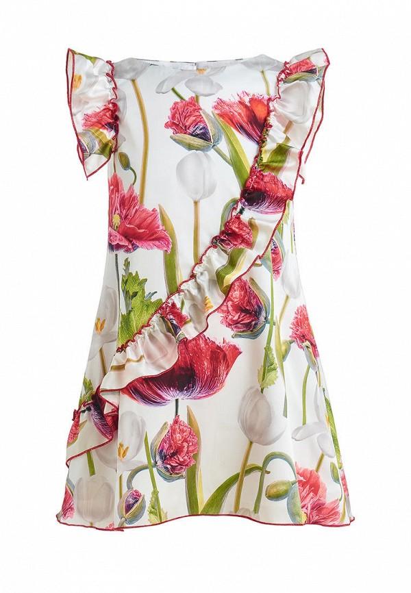 повседневные платье stefany для девочки, разноцветное