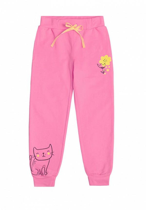 спортивные спортивные брюки crockid для девочки, розовые