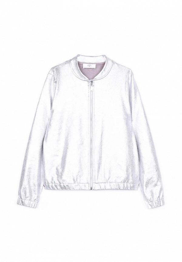 куртка le temps des cerises для девочки, серебряная