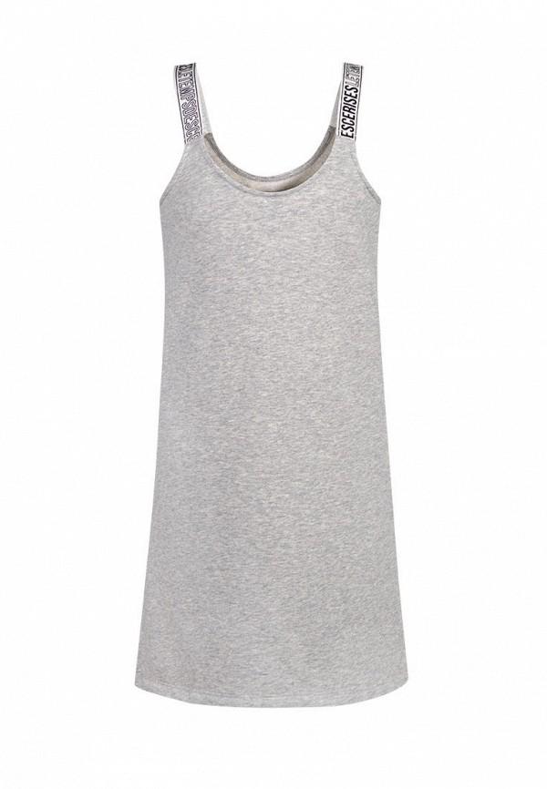 повседневные платье le temps des cerises для девочки, серое