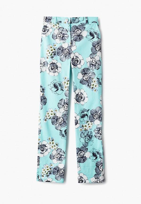 брюки смена для девочки, бирюзовые