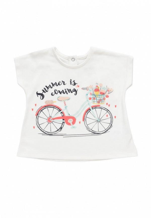 футболка с коротким рукавом artie для девочки, белая