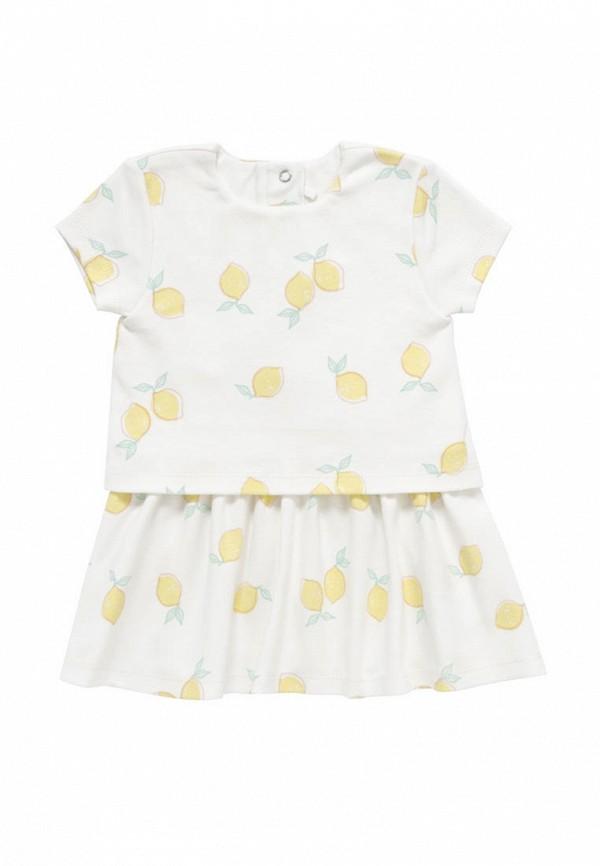 повседневные платье artie для девочки, белое
