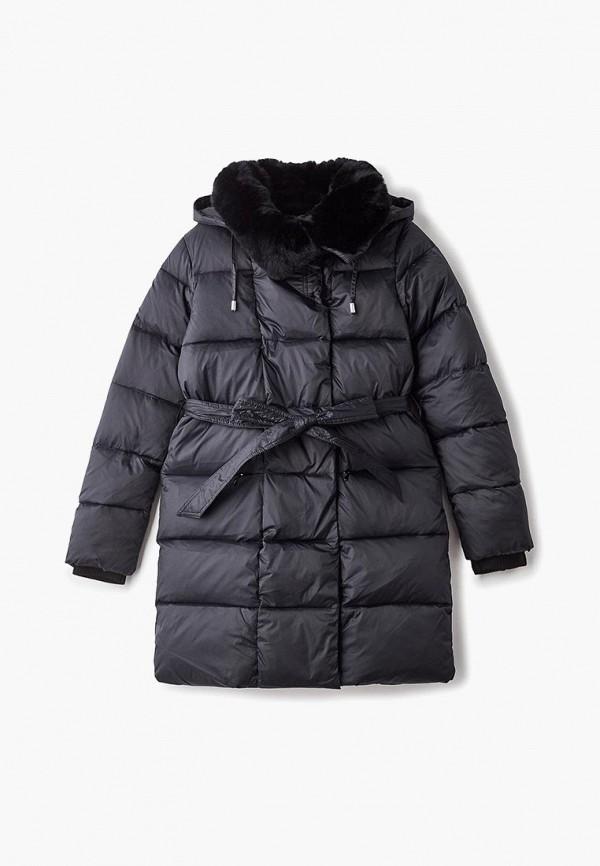 куртка kiwiland для девочки, черная