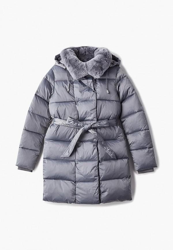 куртка kiwiland для девочки, серая