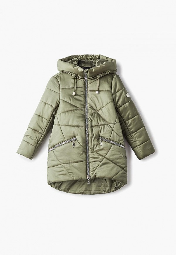 куртка mes ami для девочки, хаки